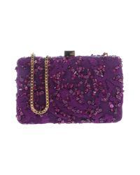 Elie Saab Purple Cross-body Bag