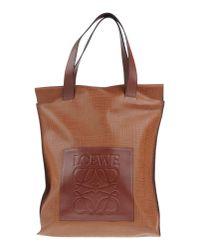Loewe | Brown Handbag | Lyst