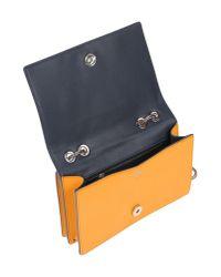 MCM Yellow Handbag