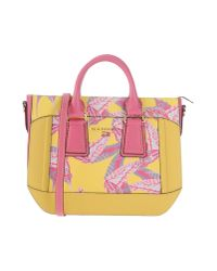 Nannini Yellow Handbag
