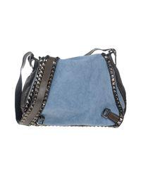 Campomaggi - Blue Cross-body Bag - Lyst