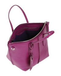 Tod's - Purple Handbag - Lyst