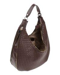 Guess - Brown Shoulder Bag - Lyst