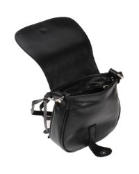 GIADA PELLE - Black Cross-body Bag - Lyst