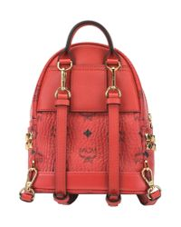 MCM - Red Backpacks & Bum Bags - Lyst