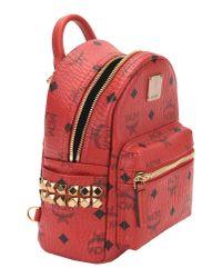 MCM - Red Backpacks & Bum Bags - Lyst
