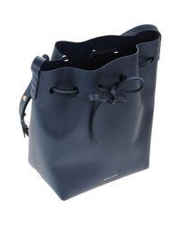 Mansur Gavriel - Blue Cross-body Bag - Lyst