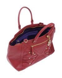 Versace Jeans - Red Handbag - Lyst
