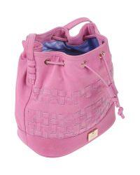 Versace Jeans - Pink Cross-body Bag - Lyst