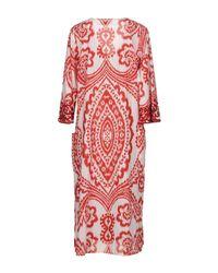 ADA KAMARA - Red Knee-length Dresses - Lyst