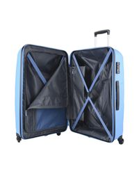 American Tourister Blue Wheeled luggage for men