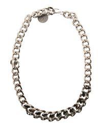 Lanvin - Metallic Necklaces - Lyst