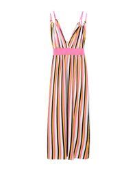 Vestido largo Sun 68 de color Pink