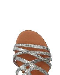 Donna Più Metallic Sandale