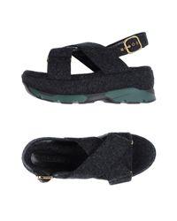 Marni Gray Sandals
