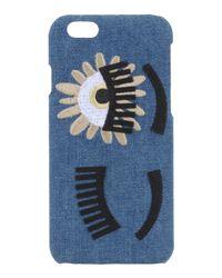 Chiara Ferragni - Blue Denim Iphone 6 Case - Lyst