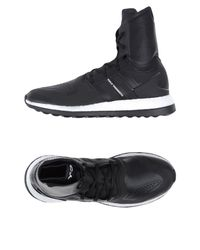 Y-3 - Black High-tops & Sneakers for Men - Lyst