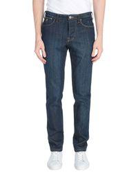 Pantalones vaqueros Jaggy de hombre de color Blue