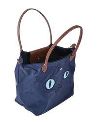 Longchamp Blue Handtaschen