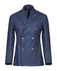 Veste Tagliatore pour homme en coloris Blue