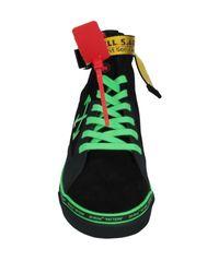 Off-White c/o Virgil Abloh High Sneakers & Tennisschuhe in Black für Herren