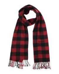 Cheap Monday | Red Oblong Scarf for Men | Lyst