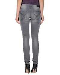 William Rast - Black Denim Pants - Lyst