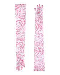 Dries Van Noten - Pink Gloves - Lyst