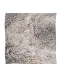 Golden Goose Deluxe Brand - Gray Square Scarf for Men - Lyst