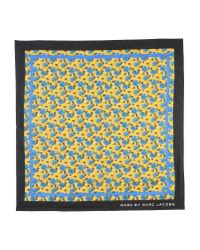Marc By Marc Jacobs | Yellow Square Scarf | Lyst