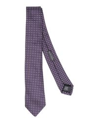 Ralph Lauren Black Label | Purple Tie for Men | Lyst