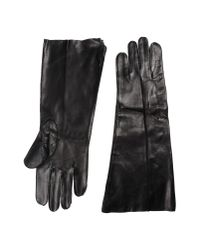 Ann Demeulemeester | Black Gloves | Lyst