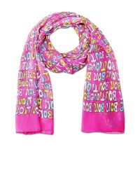 Boutique Moschino   Pink Stole   Lyst
