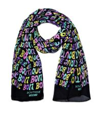 Boutique Moschino | Black Stole | Lyst