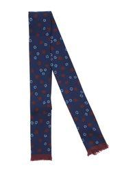 Valentino - Blue Tie for Men - Lyst