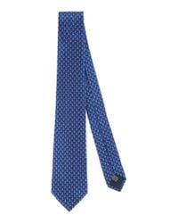 Lanvin - Blue Tie for Men - Lyst