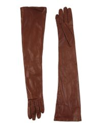 Dries Van Noten - Brown Gloves - Lyst