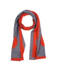 Armani Jeans | Red Oblong Scarf | Lyst