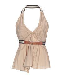 Dolce & Gabbana Brown Top