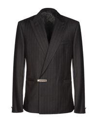 Versace Gray Blazer for men
