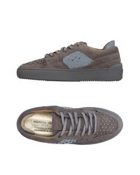 Android Homme Gray Low-tops & Sneakers for men