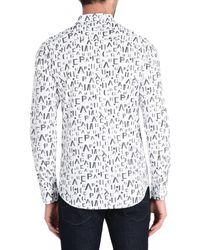 Chemise Armani Exchange pour homme en coloris White