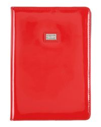 Dolce & Gabbana Red Covers & Cases