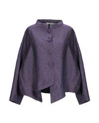 Camicia di Cristina Bonfanti in Purple