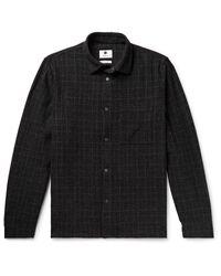 NN07 Black Jacket for men