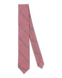 Cravate Brooks Brothers pour homme en coloris Red