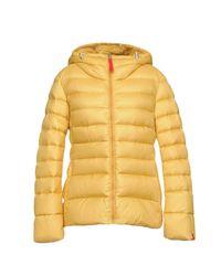 313 Tre Uno Tre Yellow Down Jacket