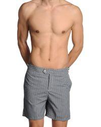 Swim-ology Gray Swim Trunks for men