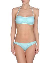 Agogoa - Blue Bikini - Lyst