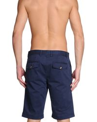 Gianfranco Ferré - Blue Beach Shorts And Pants for Men - Lyst
